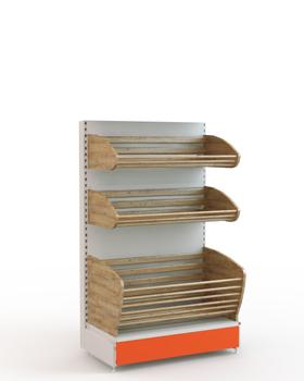 Торговый стеллаж для хлеба 1450*900*500