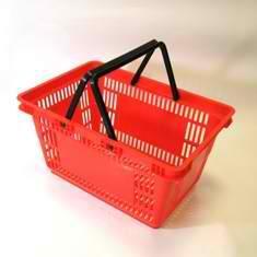 Корзина покупательская пластиковая 27 л