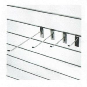 F291 Крючок 150мм хром толщ. 5 мм