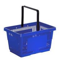 Корзина покупательская из пластика 27 литров