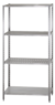 Стеллаж полочный СПЛн 1800х800Х600, 4 полки перф