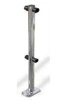 Столбик ограждения с 2-мя муфтами