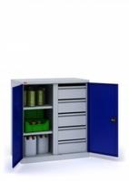 Инструментальный шкаф ИП-2-0.5/1
