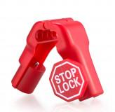 Stop Lock с предупреждающей надписью